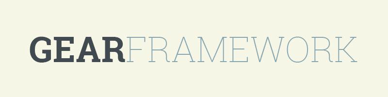 Gear Framework Logo
