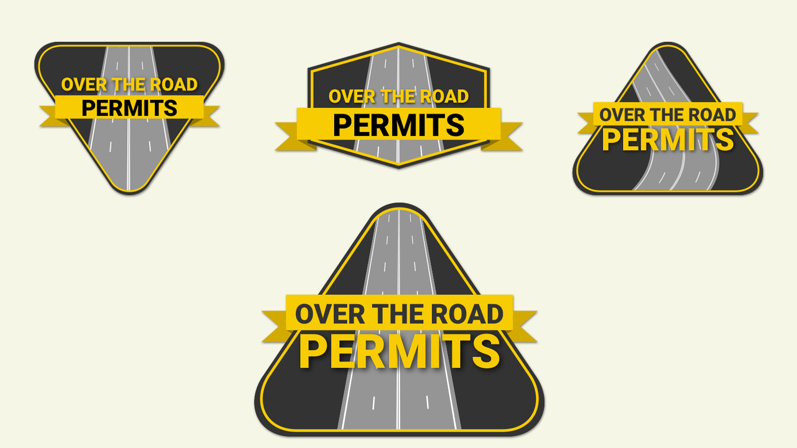 Over the Road Permits Logo